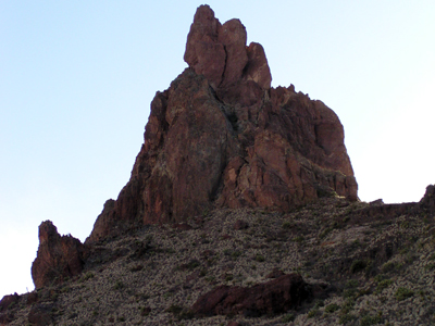 Mule Ear Peaks, South